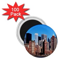 Skyscraper Architecture City 1 75  Magnets (100 Pack)  by Simbadda