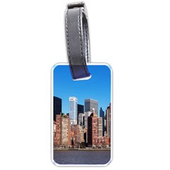 Skyscraper Architecture City Luggage Tags (two Sides)