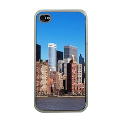 Skyscraper Architecture City Apple Iphone 4 Case (clear)