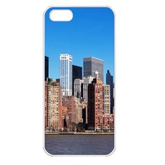 Skyscraper Architecture City Apple Iphone 5 Seamless Case (white)