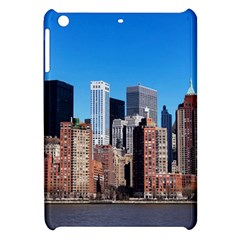 Skyscraper Architecture City Apple Ipad Mini Hardshell Case by Simbadda