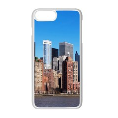 Skyscraper Architecture City Apple Iphone 7 Plus Seamless Case (white)