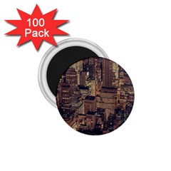 New York City Skyline Nyc 1 75  Magnets (100 Pack)