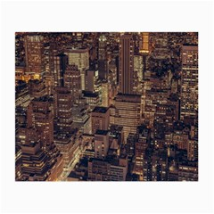New York City Skyline Nyc Small Glasses Cloth (2 Side)