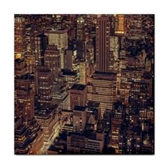 New York City Skyline Nyc Face Towel