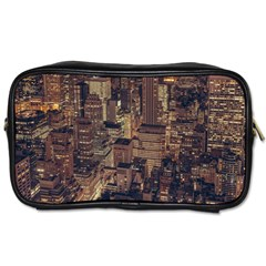 New York City Skyline Nyc Toiletries Bags 2 Side