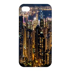 Panorama Urban Landscape Town Center Apple Iphone 4/4s Premium Hardshell Case
