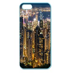 Panorama Urban Landscape Town Center Apple Seamless Iphone 5 Case (color)