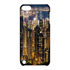Panorama Urban Landscape Town Center Apple Ipod Touch 5 Hardshell Case With Stand