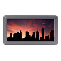 Skyline Panoramic City Architecture Memory Card Reader (mini)