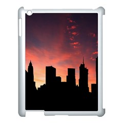 Skyline Panoramic City Architecture Apple Ipad 3/4 Case (white)