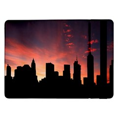 Skyline Panoramic City Architecture Samsung Galaxy Tab Pro 12 2  Flip Case