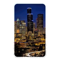 Skyline Downtown Seattle Cityscape Memory Card Reader by Simbadda