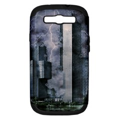 Digital Art City Cities Urban Samsung Galaxy S Iii Hardshell Case (pc+silicone)