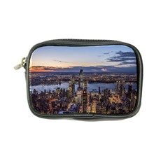 Panoramic City Water Travel Coin Purse