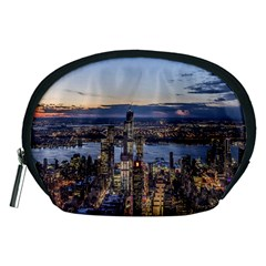 Panoramic City Water Travel Accessory Pouches (medium)