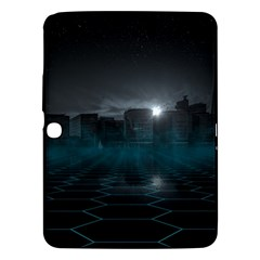 Skyline Night Star Sky Moon Sickle Samsung Galaxy Tab 3 (10 1 ) P5200 Hardshell Case