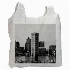 Architecture City Skyscraper Recycle Bag (one Side)