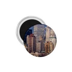 New York Skyline Manhattan Hudson 1 75  Magnets