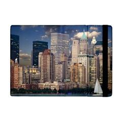 New York Skyline Manhattan Hudson Apple Ipad Mini Flip Case