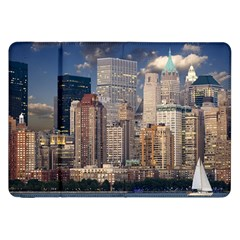 New York Skyline Manhattan Hudson Samsung Galaxy Tab 8 9  P7300 Flip Case