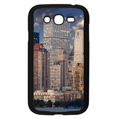New York Skyline Manhattan Hudson Samsung Galaxy Grand Duos I9082 Case (black)