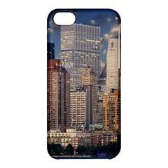 New York Skyline Manhattan Hudson Apple Iphone 5c Hardshell Case