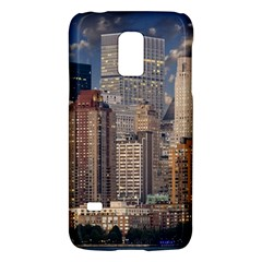 New York Skyline Manhattan Hudson Galaxy S5 Mini by Simbadda