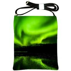 Aurora Borealis Northern Lights Sky Shoulder Sling Bags