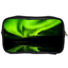 Aurora Borealis Northern Lights Sky Toiletries Bags