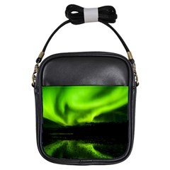 Aurora Borealis Northern Lights Sky Girls Sling Bags