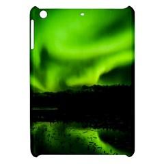 Aurora Borealis Northern Lights Sky Apple Ipad Mini Hardshell Case by Simbadda