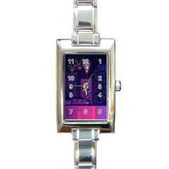 Architecture Home Skyscraper Rectangle Italian Charm Watch