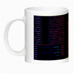 Architecture Home Skyscraper Night Luminous Mugs