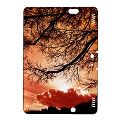 Tree Skyline Silhouette Sunset Kindle Fire Hdx 8 9  Hardshell Case