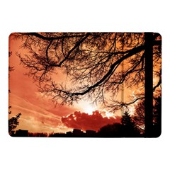Tree Skyline Silhouette Sunset Samsung Galaxy Tab Pro 10 1  Flip Case