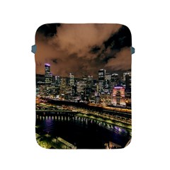 Cityscape Night Buildings Apple Ipad 2/3/4 Protective Soft Cases