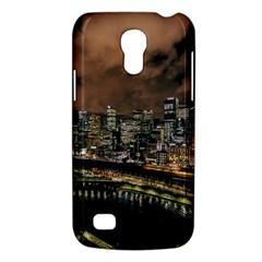 Cityscape Night Buildings Galaxy S4 Mini