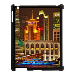 Shanghai Skyline Architecture Apple Ipad 3/4 Case (black)