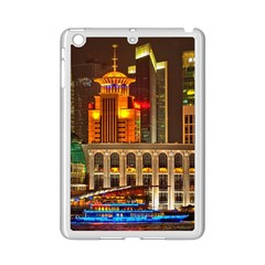 Shanghai Skyline Architecture Ipad Mini 2 Enamel Coated Cases