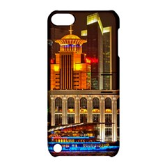 Shanghai Skyline Architecture Apple Ipod Touch 5 Hardshell Case With Stand