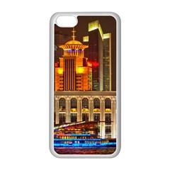 Shanghai Skyline Architecture Apple Iphone 5c Seamless Case (white)