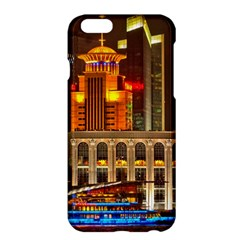 Shanghai Skyline Architecture Apple Iphone 6 Plus/6s Plus Hardshell Case