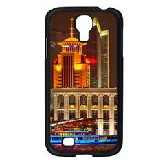 Shanghai Skyline Architecture Samsung Galaxy S4 I9500/ I9505 Case (black)