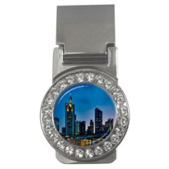 Frankfurt Germany Panorama City Money Clips (cz)