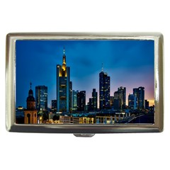 Frankfurt Germany Panorama City Cigarette Money Cases