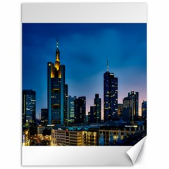Frankfurt Germany Panorama City Canvas 18  X 24