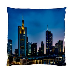 Frankfurt Germany Panorama City Standard Cushion Case (two Sides)