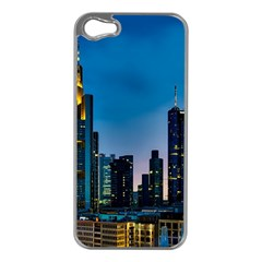 Frankfurt Germany Panorama City Apple Iphone 5 Case (silver)