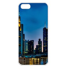 Frankfurt Germany Panorama City Apple Iphone 5 Seamless Case (white)